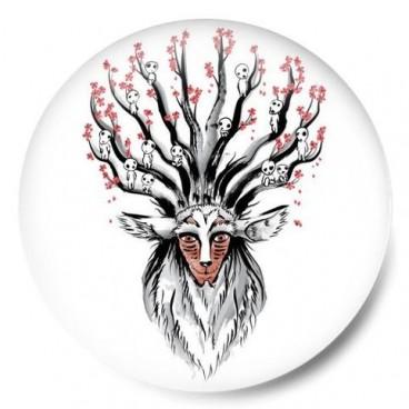 espiritu del bosque ghibli