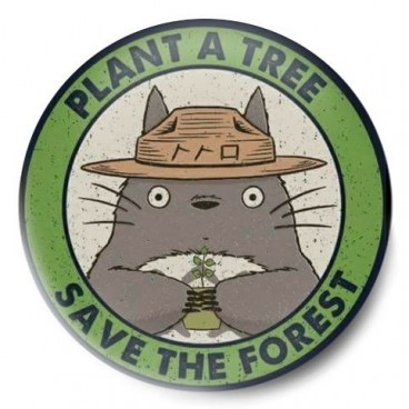 totoro save the forest