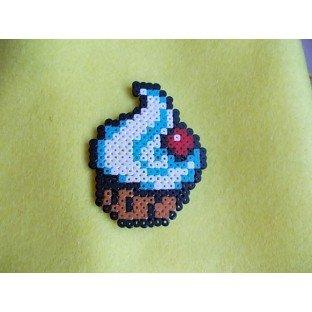 Muffin decorado mini