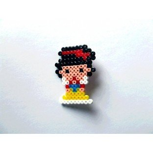 Broche Pixel-Art Blancanieves
