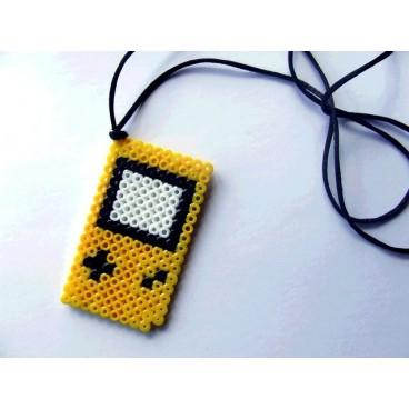 Gameboy pixel-art colgante