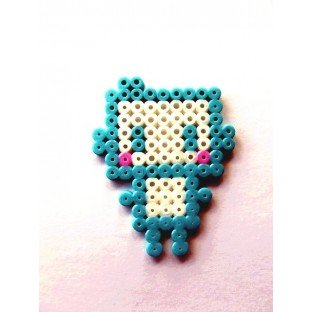 Broche Pixel-Art Robot