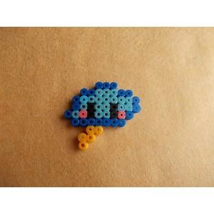 Broche PixelArt Nubecita Azul