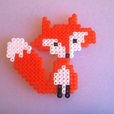Zorro principito pixel-art