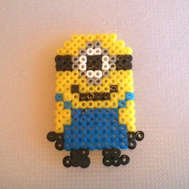 "Minion ""Gru mi villano favorito"" pixel-art"