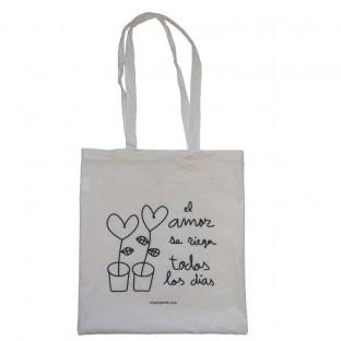 """Tote Bag """"El amor se riega todos los días"""""""