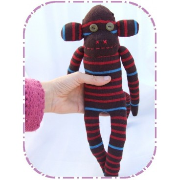 Aurelio (mono muñeco artesanal)