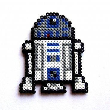 R2D2 Star Wars Pixel Art Mini