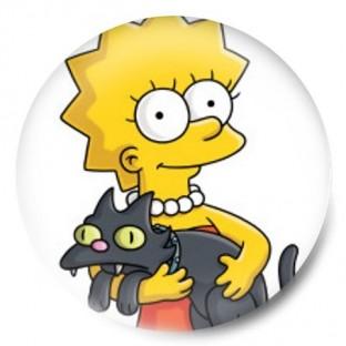 Lisa Simpson y Gato