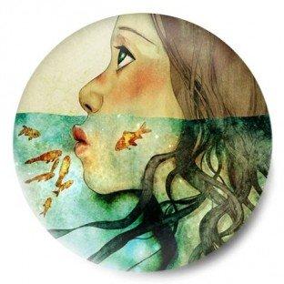Woman Ocean