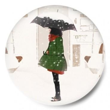 Nieve paraguas