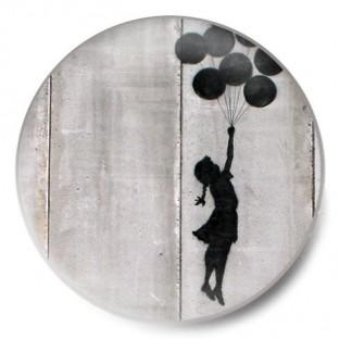 perfil niña y globos