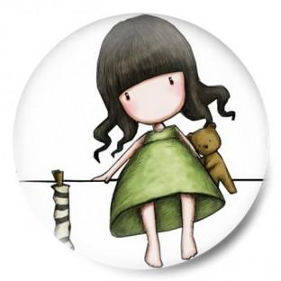niña en cuerda