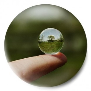 Dedo y esfera