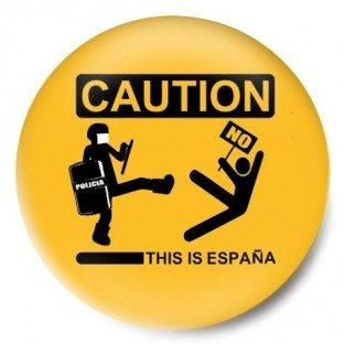 Caution This is España