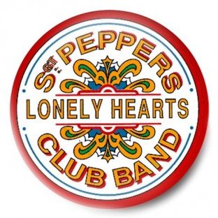 Beatles Sgt Pepper's Lonely Hearts Club Band