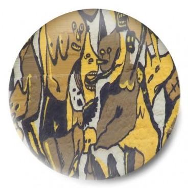 graffiti Figuras amarillo