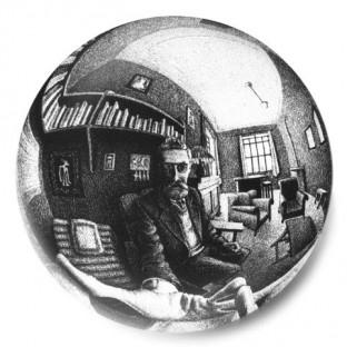 Escher Autorretrato 2