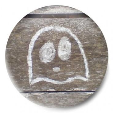 Fantasma sobre madera