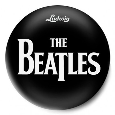 The Beatles Logo Negro