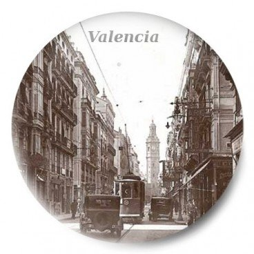 Valencia Calle de la Paz antigua