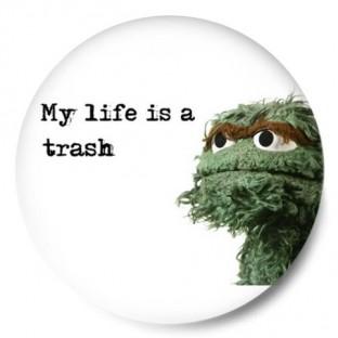 Oscar the Grouch – Muppets (Sesame Street – Barrio Sésamo)