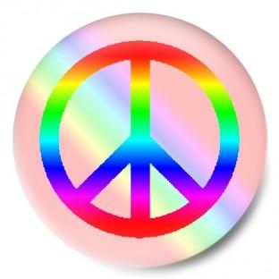 Símbolo paz colores