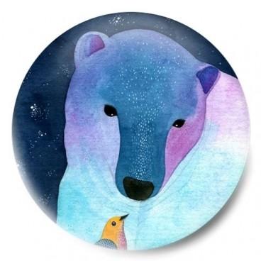 Sueño polar (dibujo oso)