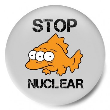 Stop Nuclear pez tres ojos