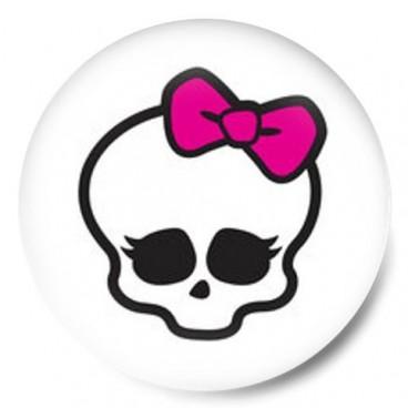 Monster High Logo calavera