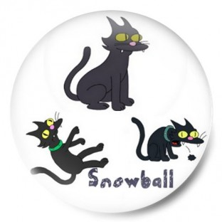 Snowball simpsons