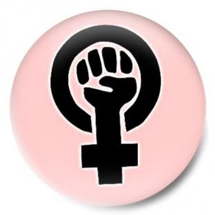 Feminista símbolo rosa