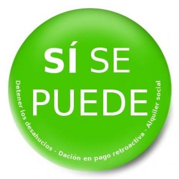 Sí se puede (stop desahucios)