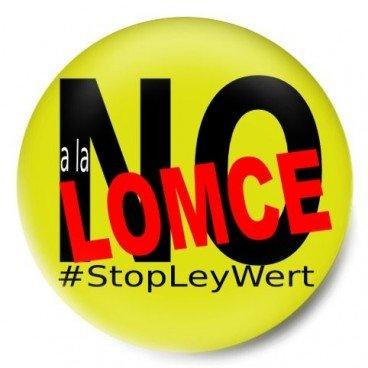 No a la LOMCE Stopleywert