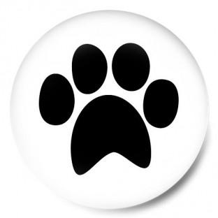 Huella perro o gato Patita