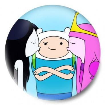 Beso Marceline Princesa Dulce y Finn hora de aventuras