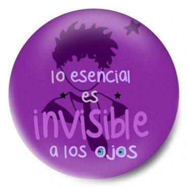 Lo esencial es invisible a los ojos (Principito) Morada