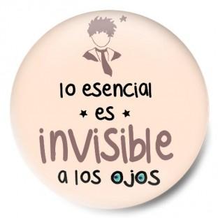 Lo esencial es invisible a los ojos (Principito) Rosa