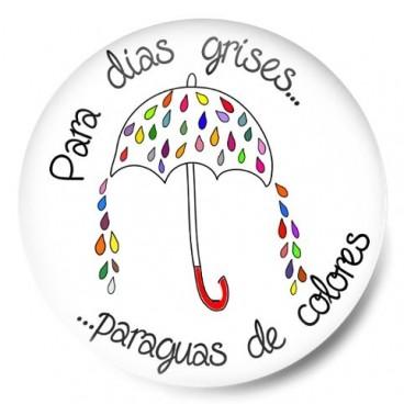 Para días grises paraguas de colores