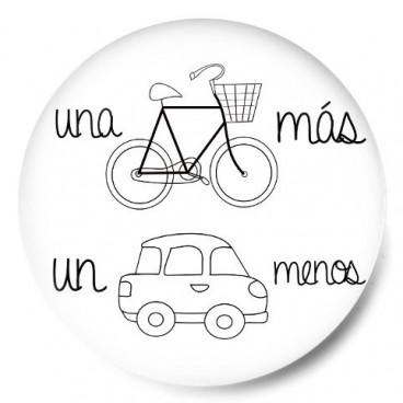 Una bici más un coche menos