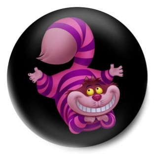 Gato Cheshire Alice Wonderland