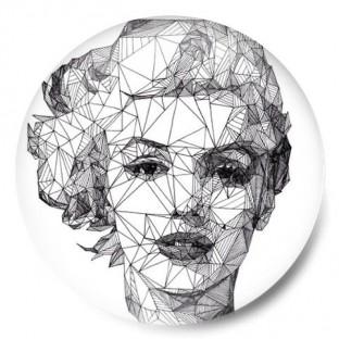 Geometric Marilyn