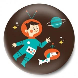 astronauta retro