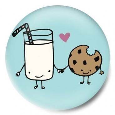 leche con galleta