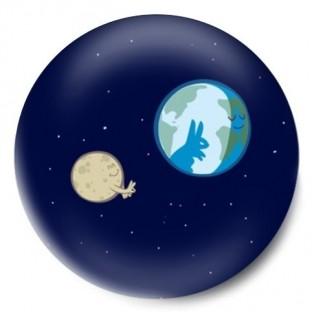 luna jugando