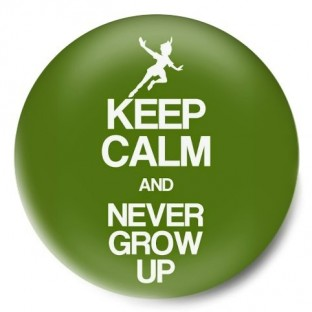 keep calm and peter pan