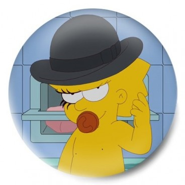 maggie clockwork orange simpsons