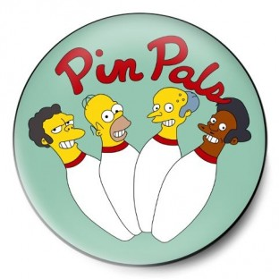 pin pals simpsons