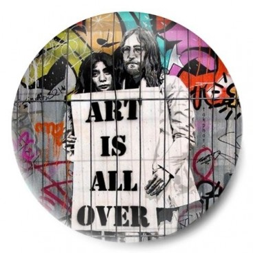 art is all over