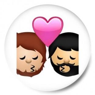 emoticono gay